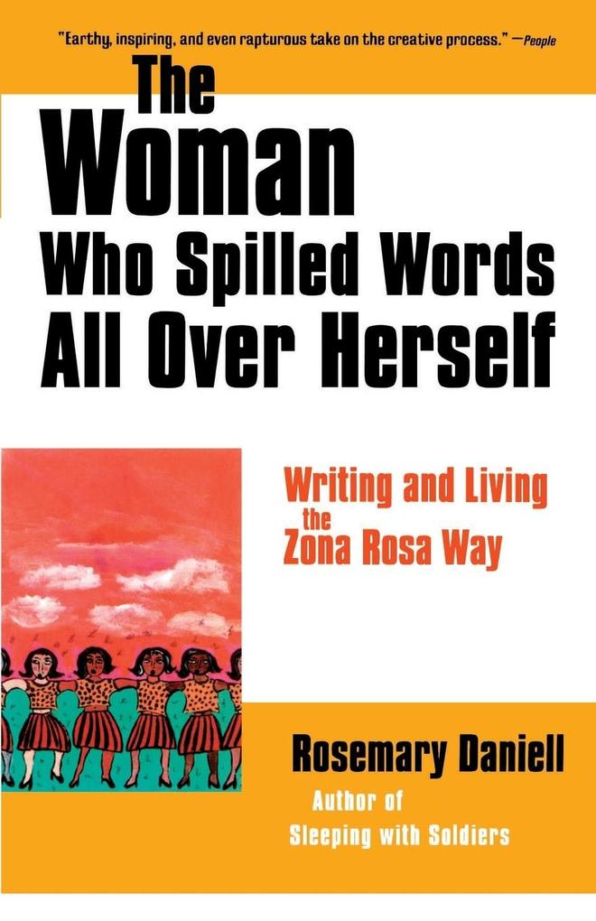 The Woman Who Spilled Words All Over Herself als Taschenbuch