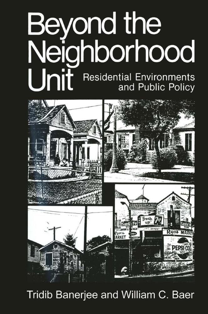 Beyond the Neighborhood Unit als Buch (gebunden)