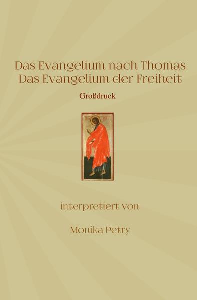 Das Evangelium nach Thomas (Großdruck) als Buch (kartoniert)