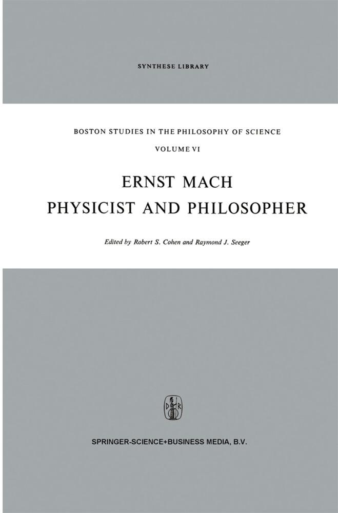 Ernst Mach: Physicist and Philosopher als Buch (gebunden)
