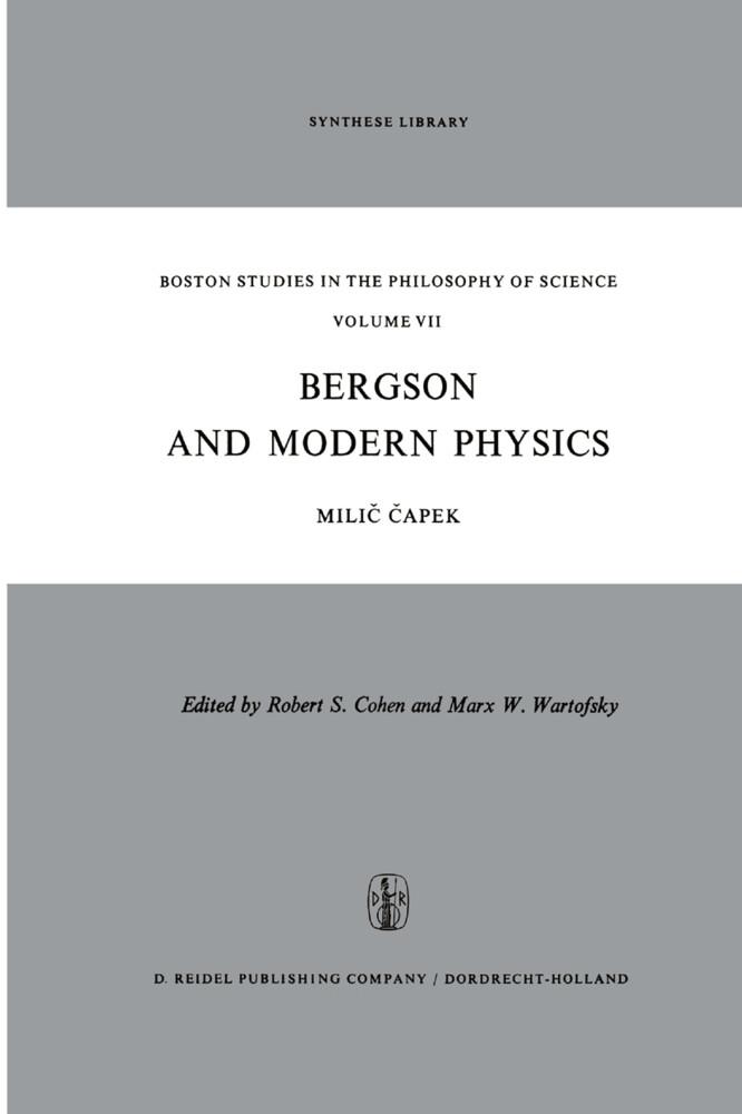 Bergson and Modern Physics als Buch (gebunden)