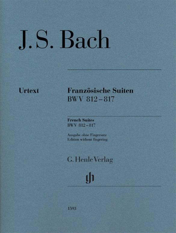 Französische Suiten BWV 812-817 br. als Buch (kartoniert)