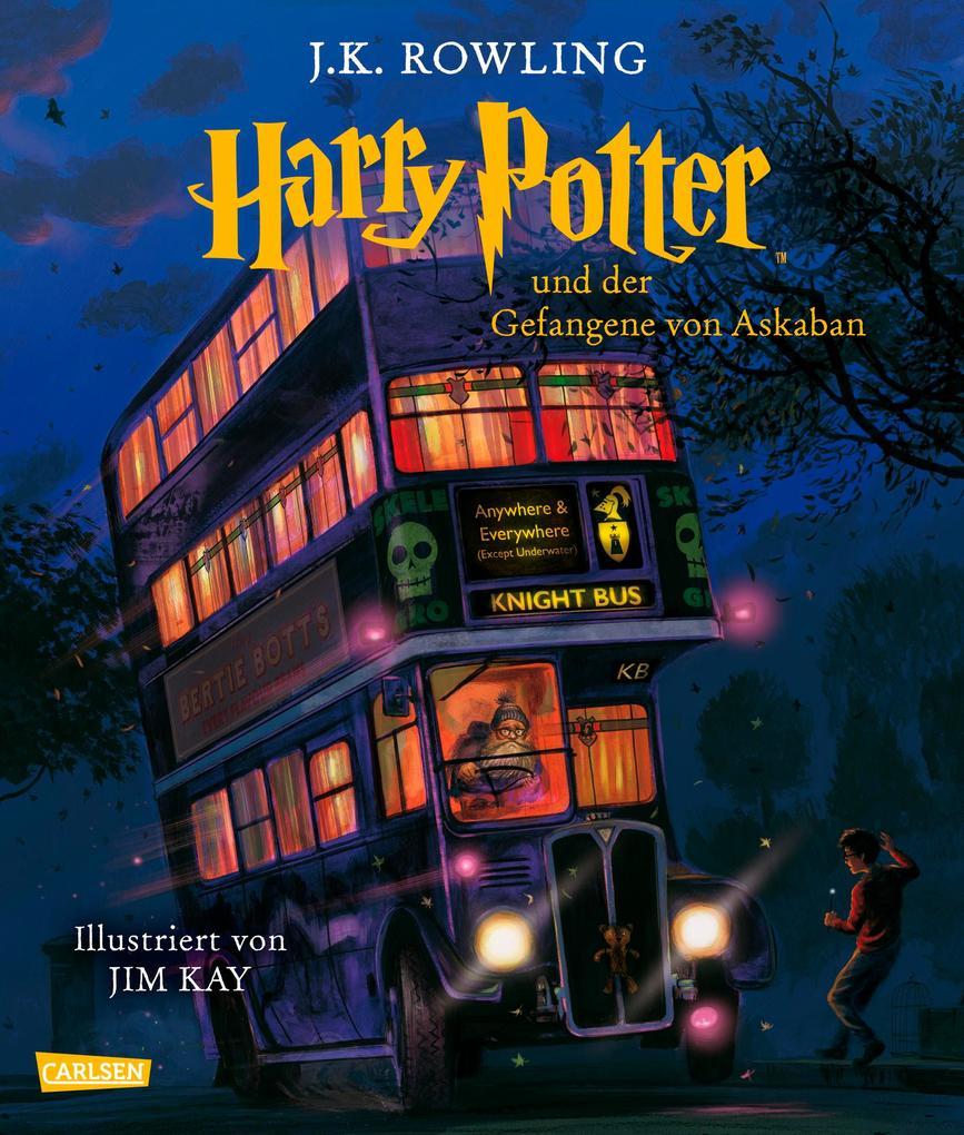 Harry Potter 3 und der Gefangene von Askaban (farbig illustrierte Schmuckausgabe) als Buch (gebunden)