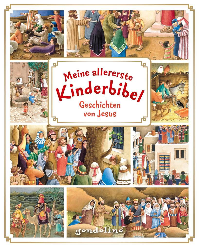Meine allererste Kinderbibel als Buch (gebunden)