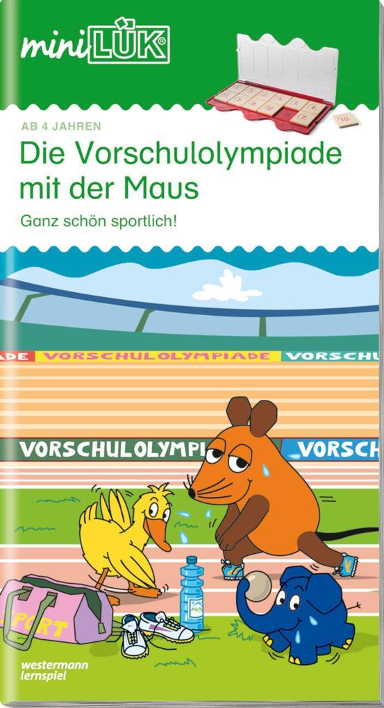 miniLÜK. Vorschulolympiade mit der Maus 1 als Buch (kartoniert)