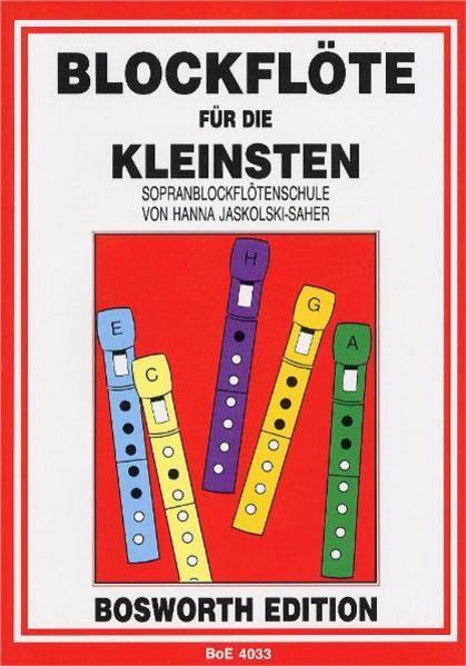 Blockflöte für die Kleinsten als Buch (kartoniert)