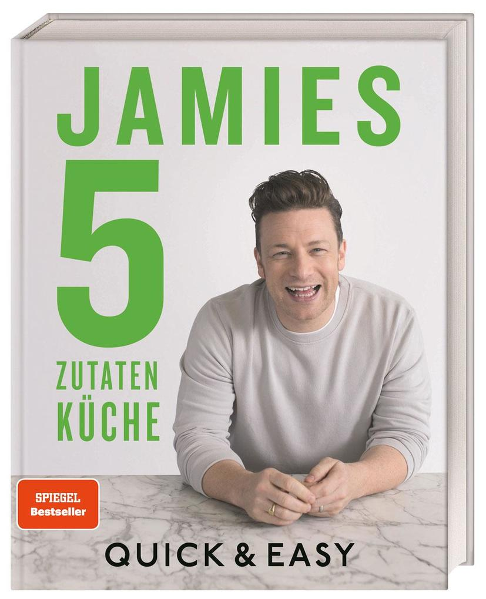 Jamies 5-Zutaten-Küche als Buch (gebunden)