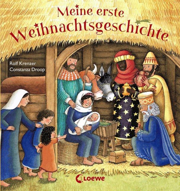Meine erste Weihnachtsgeschichte als Buch (kartoniert)