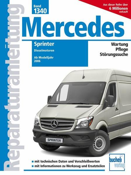 Mercedes Sprinter als Buch (kartoniert)