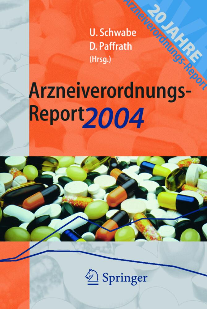 Arzneiverordnungs-Report 2004 als Buch (kartoniert)