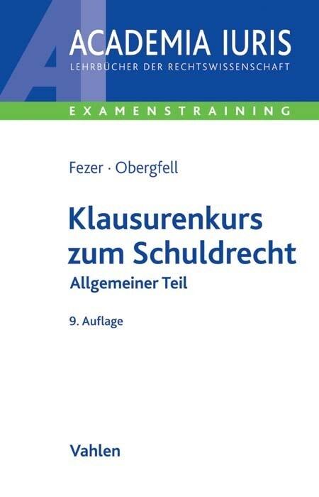 Klausurenkurs zum Schuldrecht Allgemeiner Teil als Buch (kartoniert)