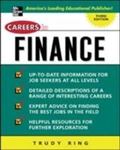 Careers in Finance als Taschenbuch