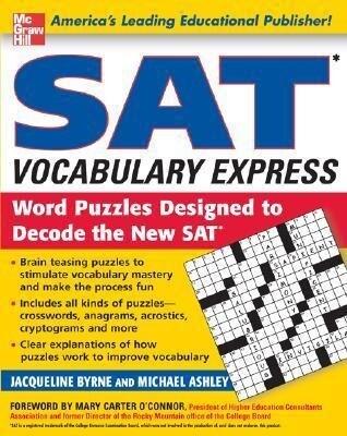 SAT Vocabulary Express: Word Puzzles Designed to Decode the New SAT als Taschenbuch