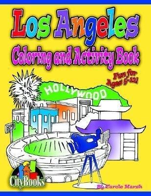 Los Angeles Coloring & Activity Book als Taschenbuch