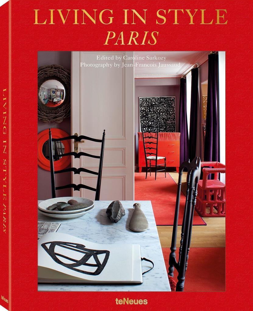 Living in Style Paris als Buch (gebunden)