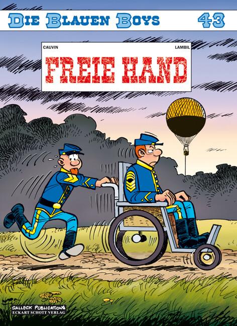 Die Blauen Boys 43: Freie Hand als Taschenbuch