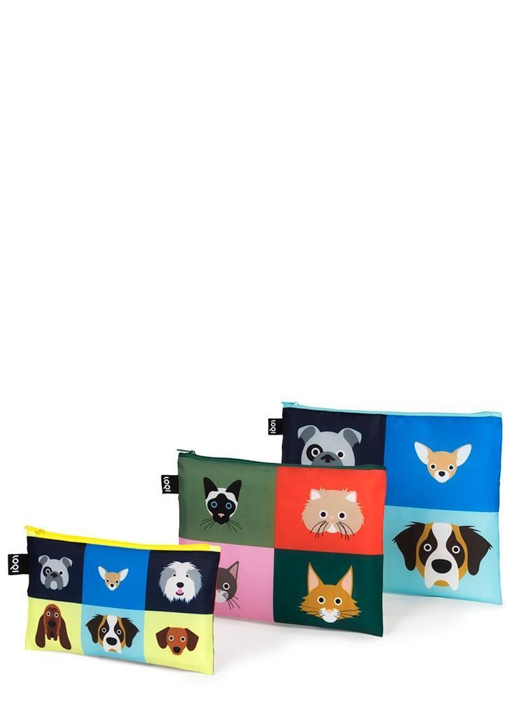 LOQI Zip Pocket STEPHEN CHEETHAM Dogs & Cats als Sonstiger Artikel