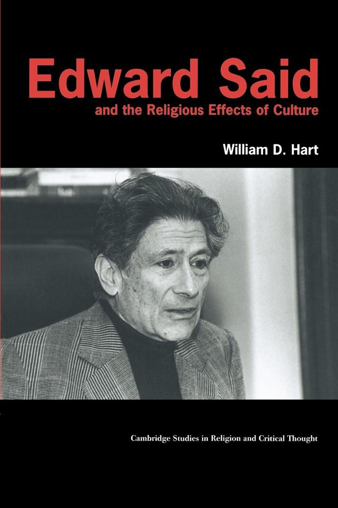 Edward Said and the Religious Effects of Culture als Buch (kartoniert)