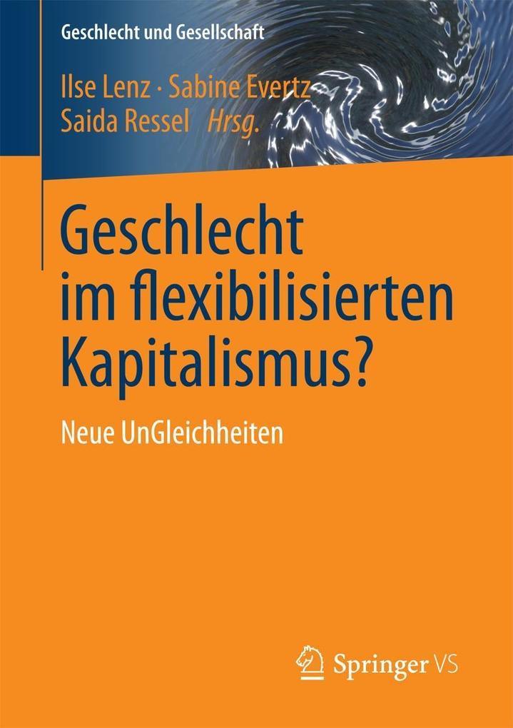 Geschlecht im flexibilisierten Kapitalismus? als eBook pdf