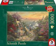 Schmidt Spiele - Puzzle - Dörfchen am Leuchtturm, 1000 Teile
