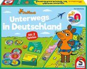 Die Maus, Unterwegs in Deutschland, 2 Spiele - Kinderspiel Lizenz
