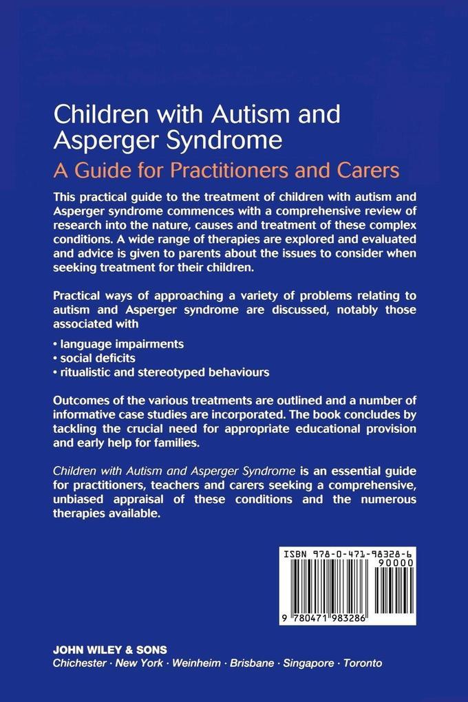 Children with Autism  Asperger Syndrome als Buch (kartoniert)