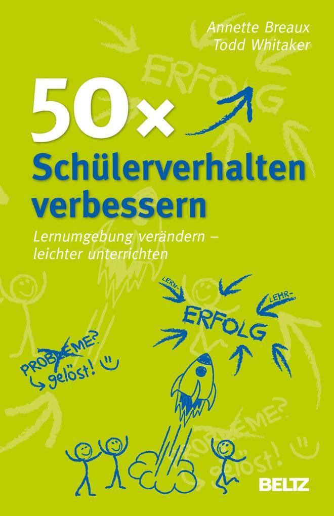 50x Schülerverhalten verbessern als eBook pdf