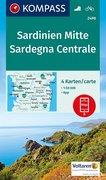 Sardinien Mitte, Sardegna Centrale 1:50 000