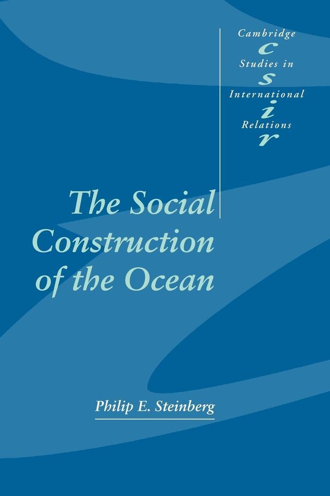 The Social Construction of the Ocean als Buch (kartoniert)