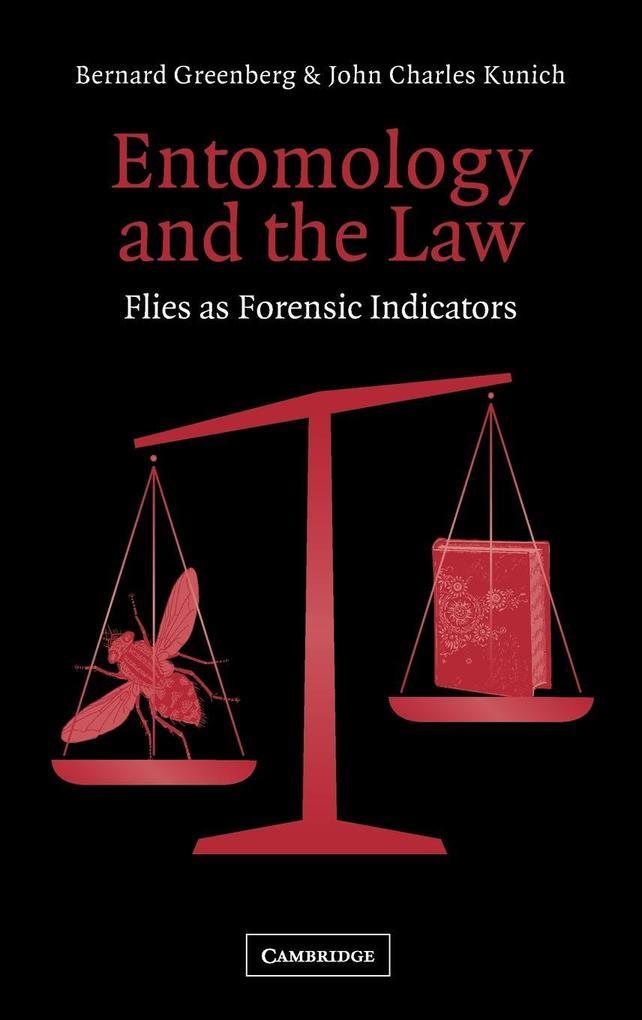 Entomology and the Law als Buch (gebunden)