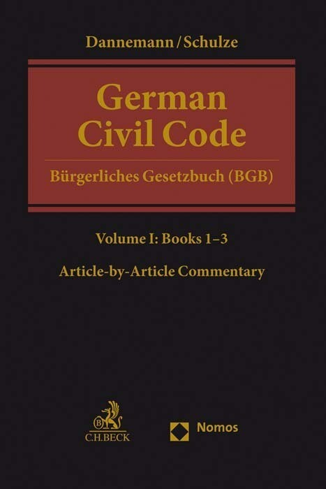 German Civil Code Volume I als Buch (gebunden)