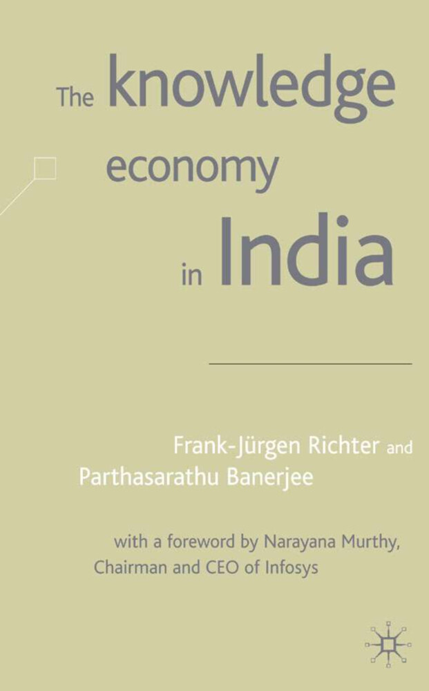 The Knowledge Economy in India als Buch (gebunden)