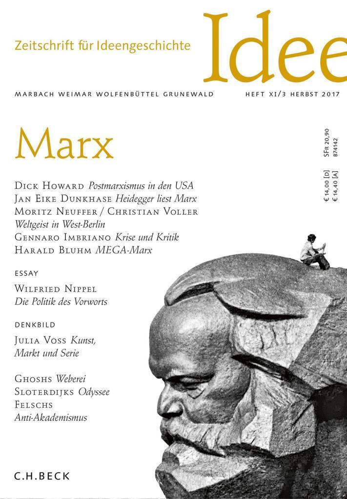 Zeitschrift für Ideengeschichte Heft XI/3 Herbst 2017 als eBook pdf