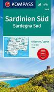 Sardinien Süd, Sardegna Sud 1:50 000