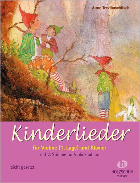 Kinderlieder für Violine (1. Lage) und Klavier als Buch (kartoniert)