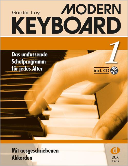 Modern Keyboard 1. Mit CD als Buch (geheftet)