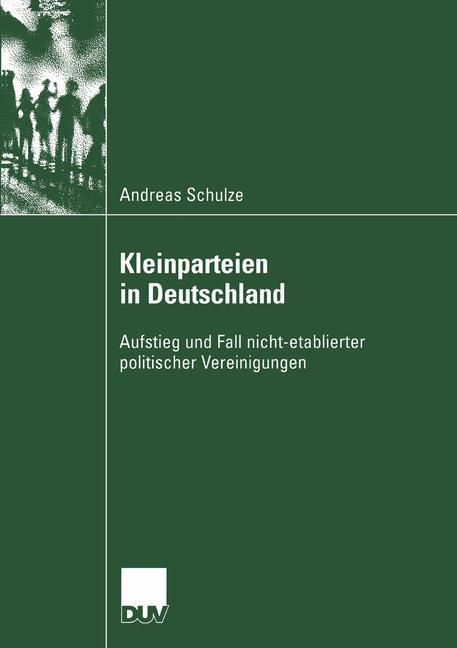 Kleinparteien in Deutschland als Buch (gebunden)