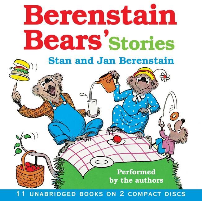 Berenstain Bear's Stories CD als Hörbuch CD