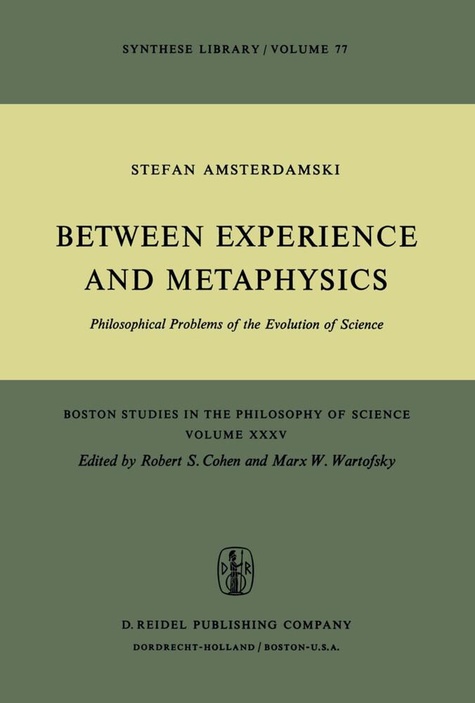 Between Experience and Metaphysics als Buch (gebunden)
