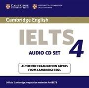 Cambridge IELTS 4 Audio CD Set (2 CDs)