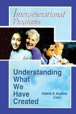 Intergenerational Programs als Taschenbuch