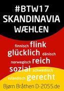 #BTW17: Skandinavia wæhlen