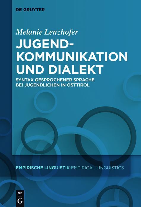 Jugendkommunikation und Dialekt als eBook epub