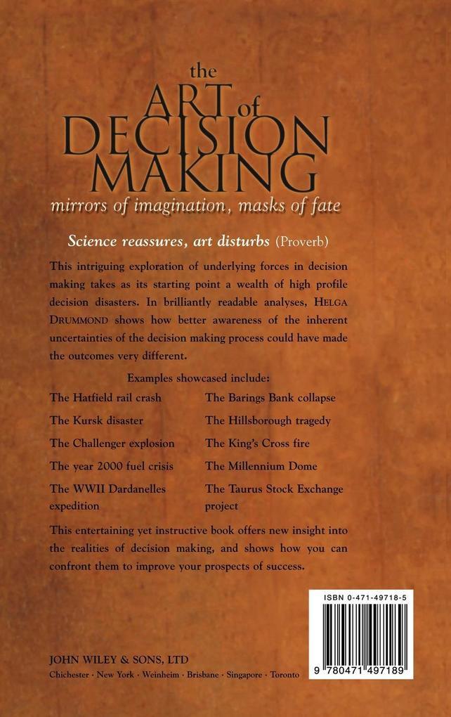 The Art of Decision Making als Buch (gebunden)