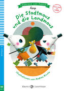 Die Stadtmaus und die Landmaus. Buch + Multi-ROM