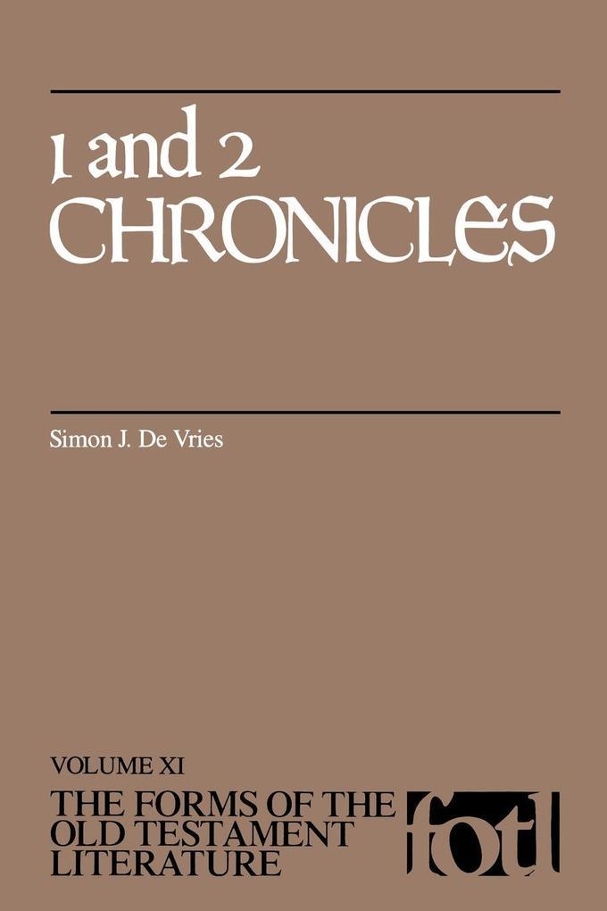 1 and 2 Chronicles als Taschenbuch