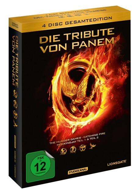Die Tribute von Panem - Gesamtedition als DVD