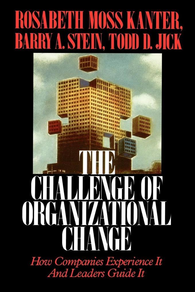 Challenge of Organizational Change als Taschenbuch