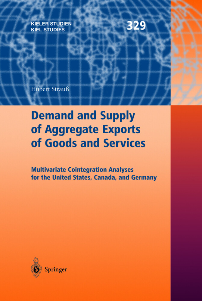 Demand and Supply of Aggregate Exports of Goods and Services als Buch (gebunden)