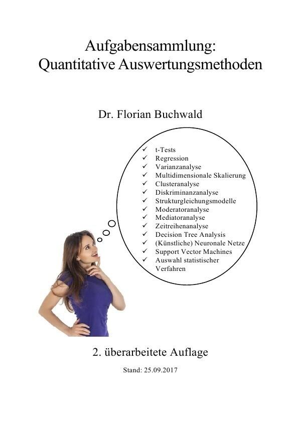 Aufgabensammlung: Quantitative Auswertungsmethoden als Buch